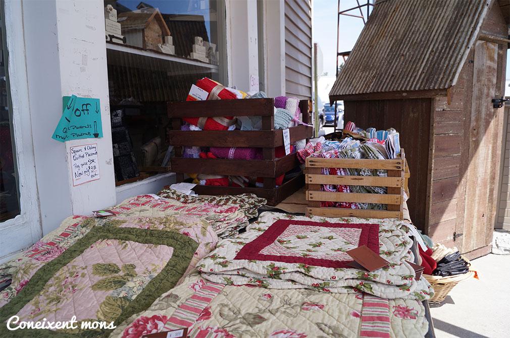 Cobrellits i altres treballs tradicionals amish, Shipshewana - Indiana