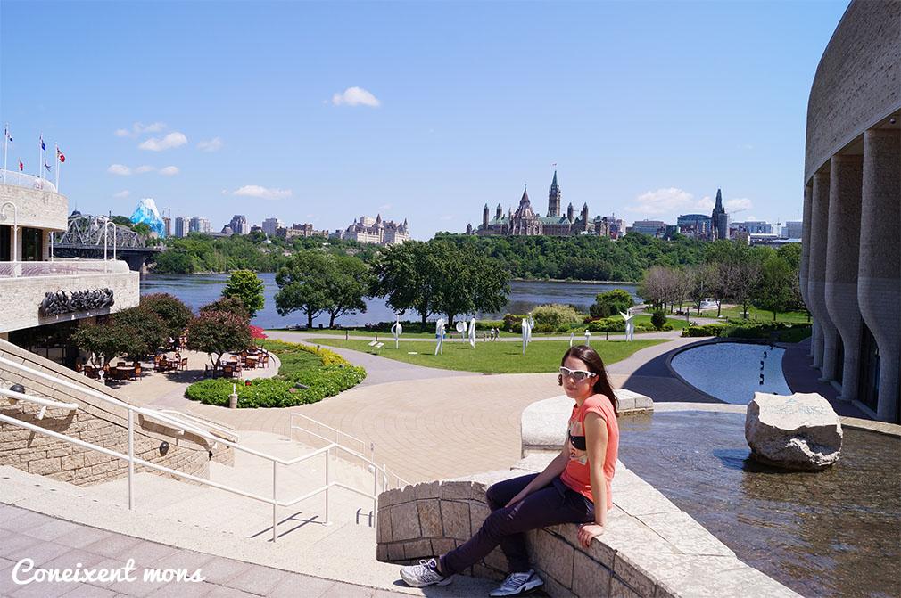 Vistes d'Ottawa des de Gatineau - Quebec
