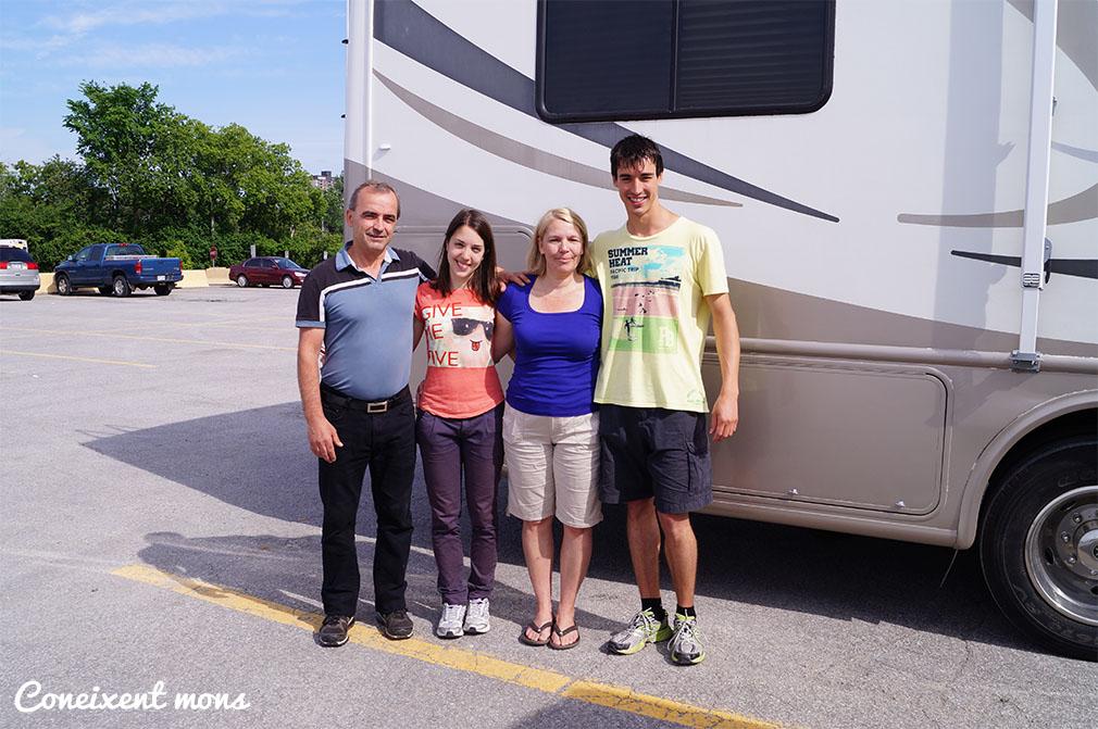 Sylvio, Ester, Patricia i Marc - Gatineau - Quebec