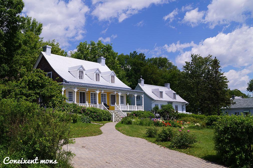 Casa tradicional quebequesa - Île d'Orléans - Quebec
