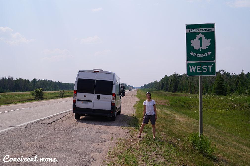 Seguim sobre la trans-canadenca - Manitoba