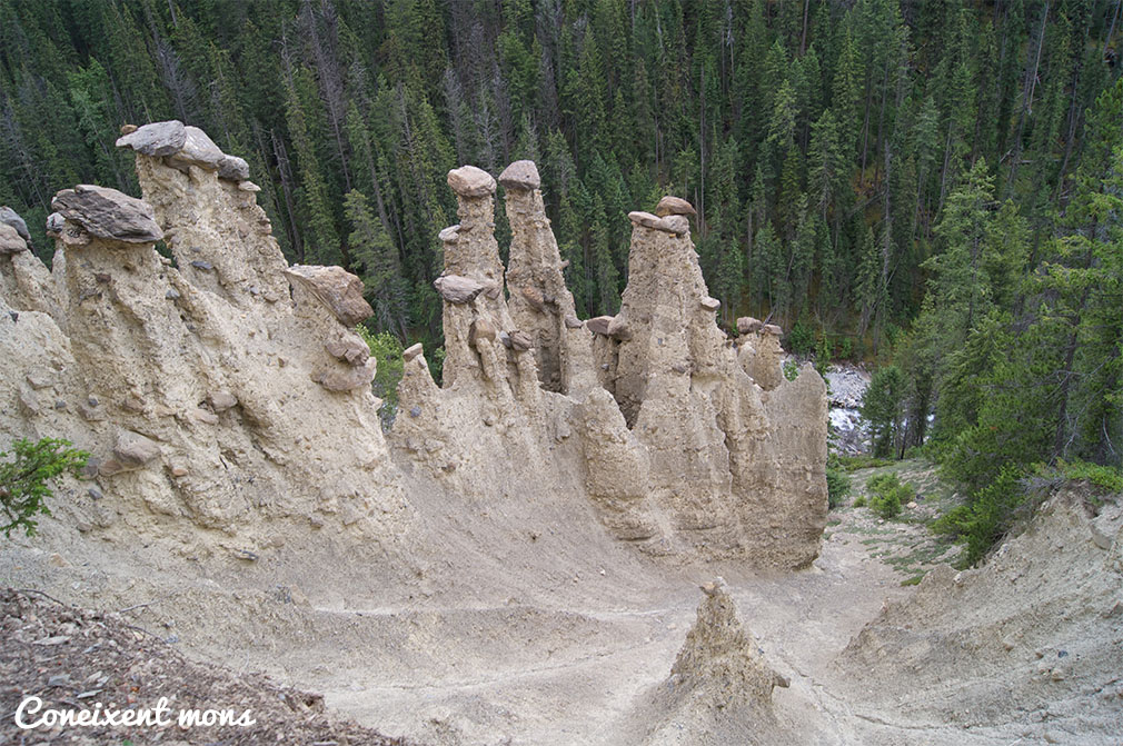 Hoodoos - Yoho National Park - British Columbia
