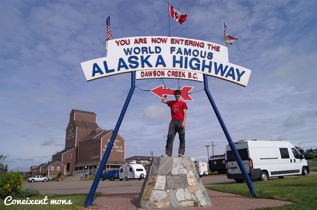 Començem l'Alaska Highway! - Dawson Creek - British Columbia