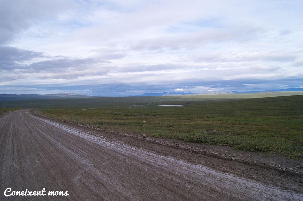 El fantàstic camí de terra que ens esperava... - Alaska