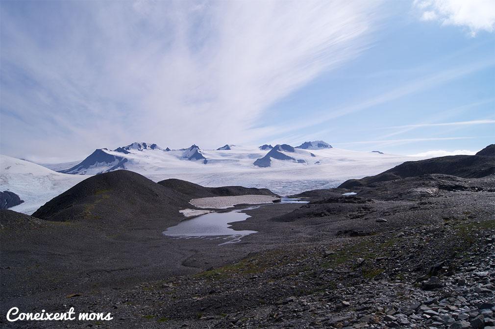 Les traçes del desgel - Harding Icefield - Alaska