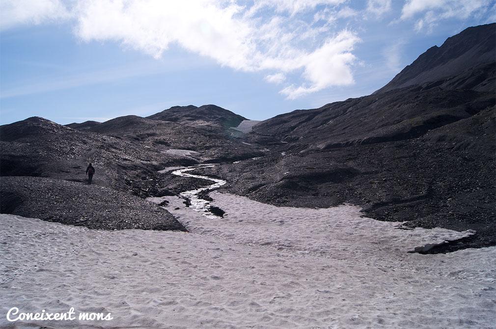 Deixant traces sobre el gel - Alaska