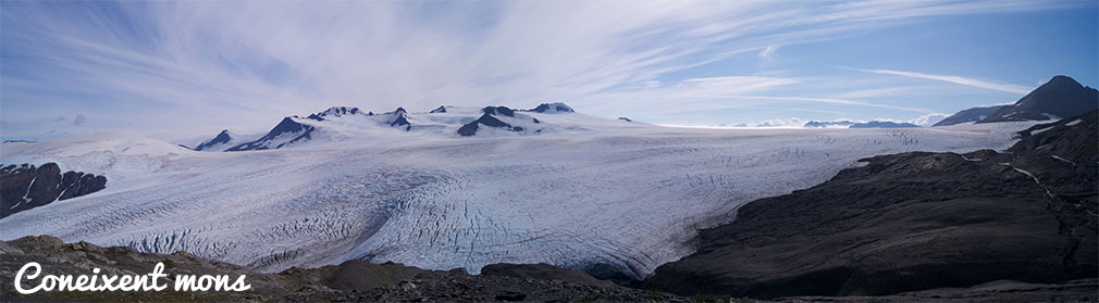 Només un bocí del Harding Icefield - Alaska