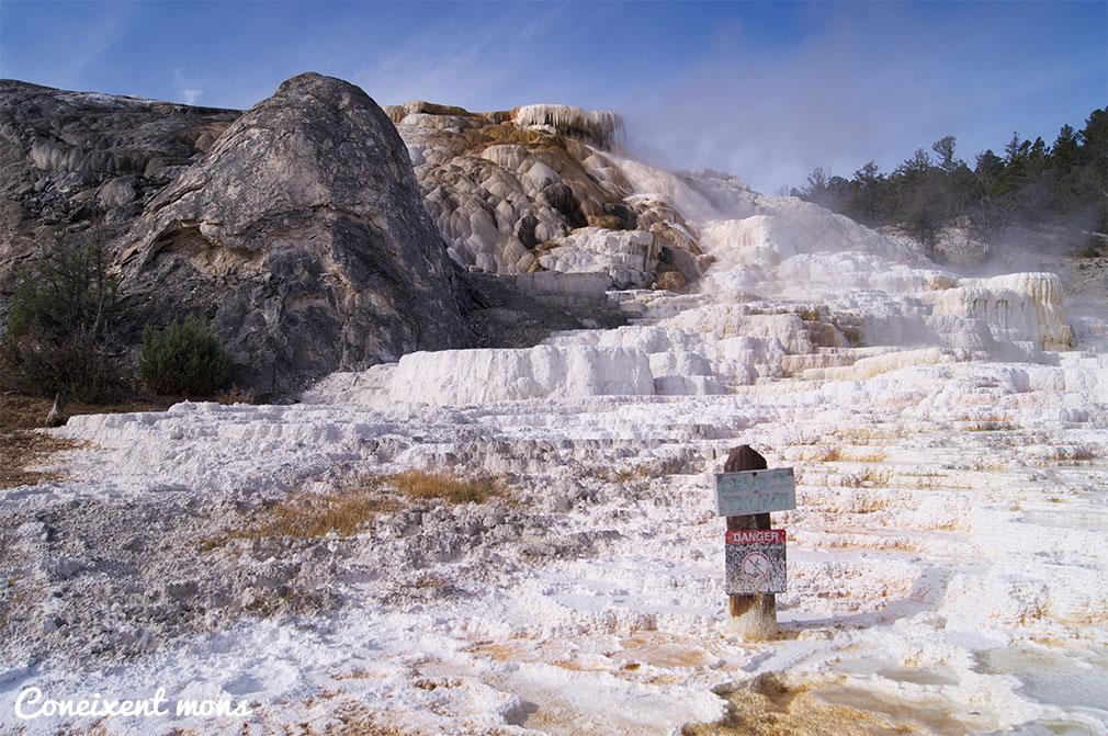 Mammoth Hot Springs - Yellowstone National Park - Wyoming