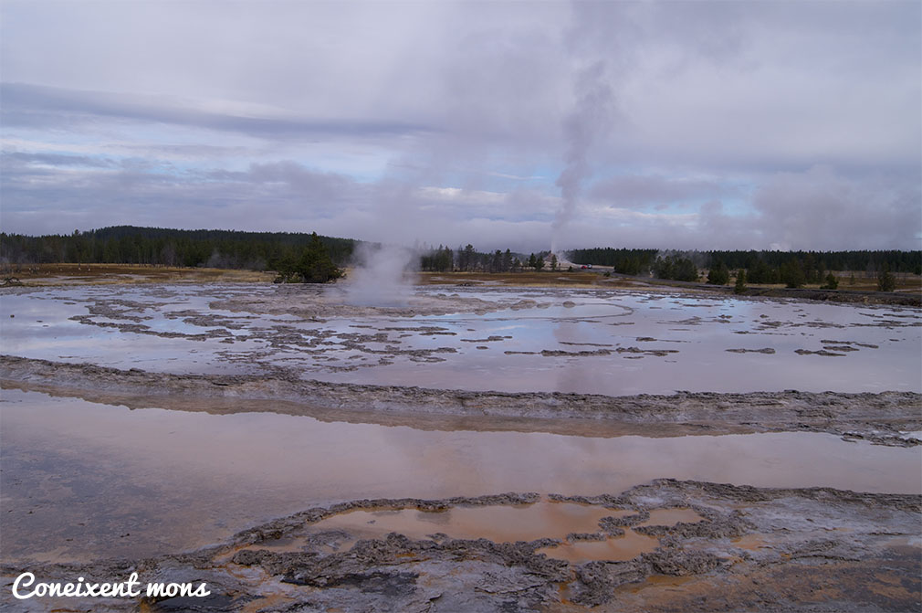 Firehole Lake Drive - Yellowstone National Park - Wyoming