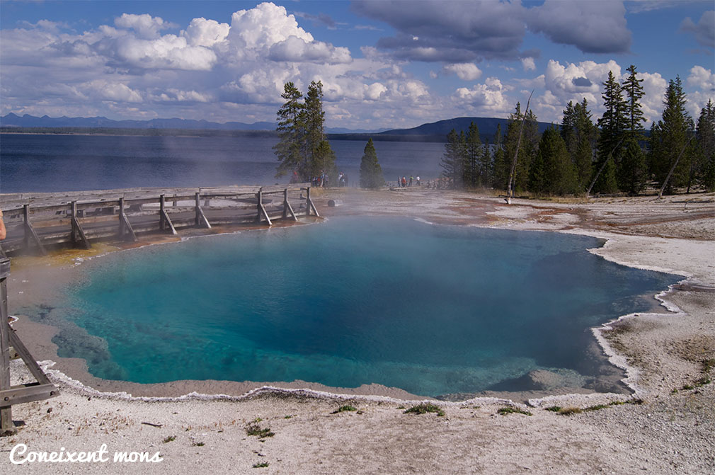Black Pool - Yellowstone National Park - Wyoming