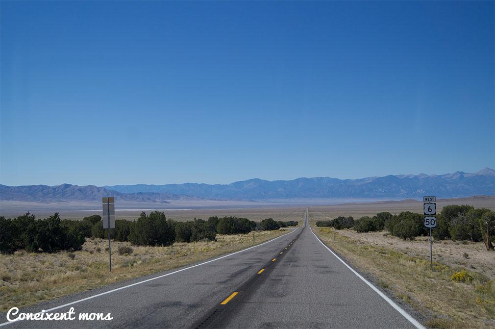 I començem les primeres milles de la carretera més solitària del país...