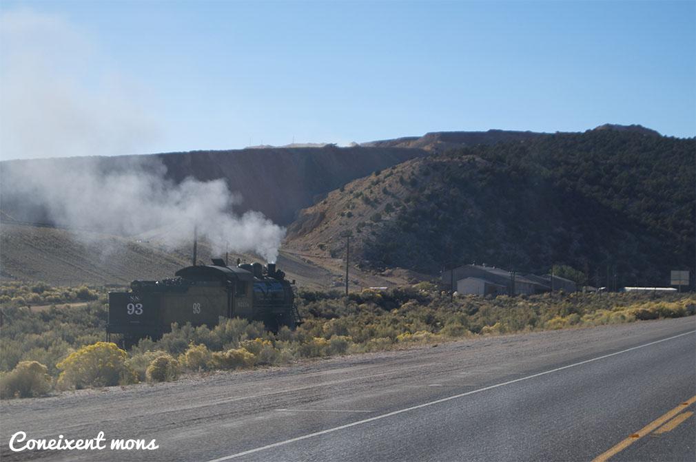 Per sorpresa, encara hi ha trens a vapor!