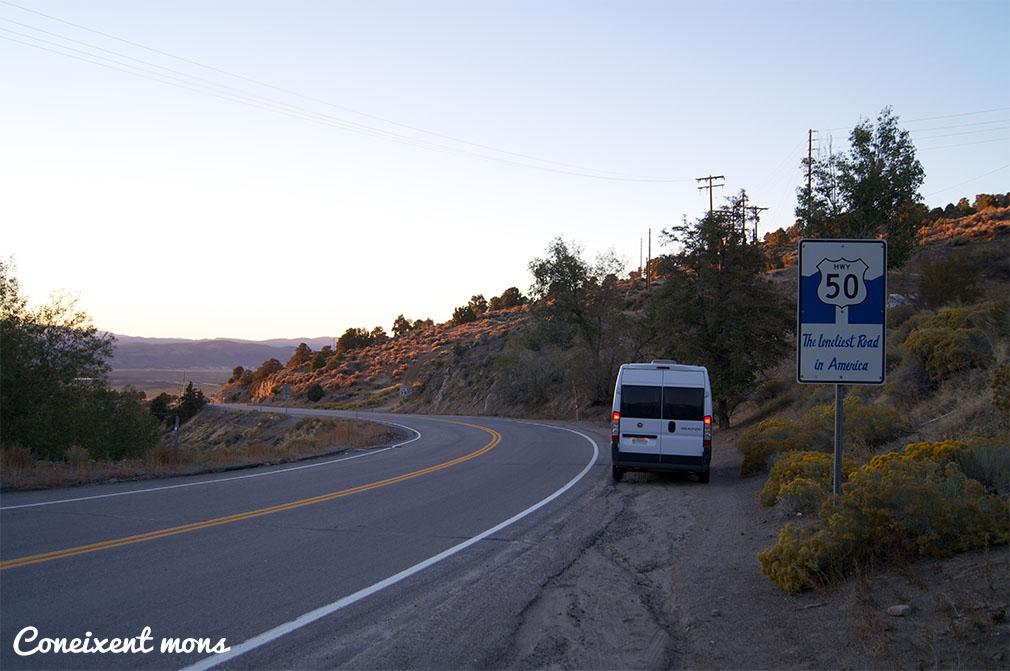 La carretera més solitària - Nevada