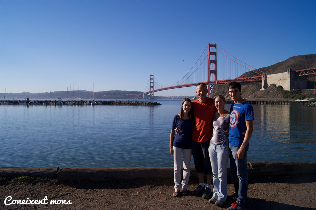 A San Francisco amb bona companyia.
