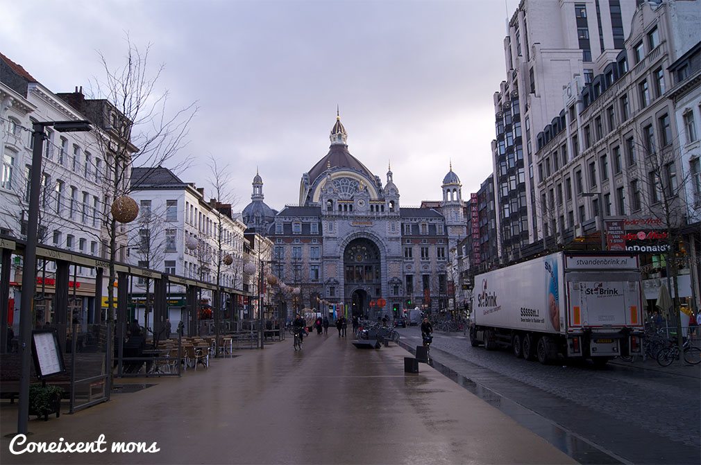 Al fons, estació central - Anvers
