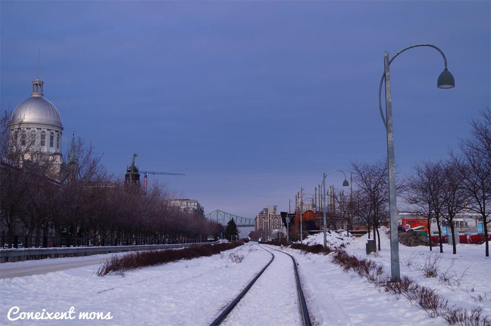 Mont-real, ciutat desperta sota zero