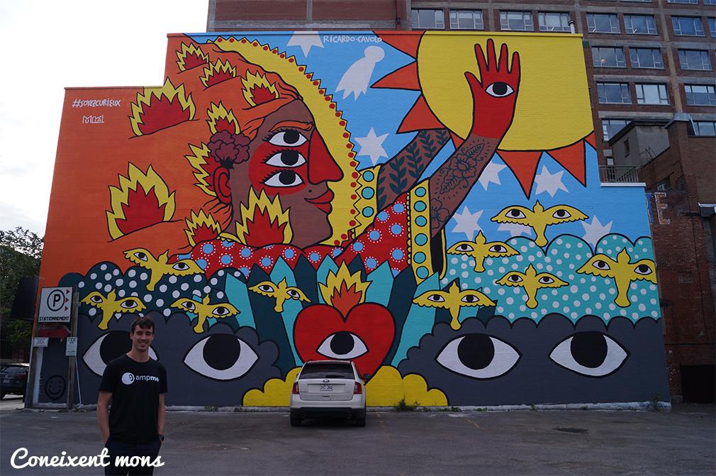 Montreal, la ciutat dels murals infinits